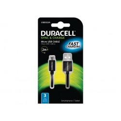 Duracell - USB5023A cargador de dispositivo móvil Negro