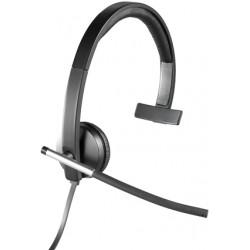 Logitech - H650e Auriculares Diadema Negro, Gris