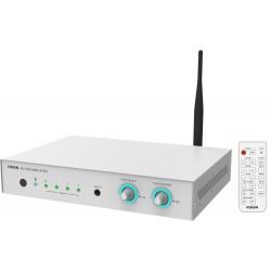 Vision - AV-1800+SP-1800 amplificador de audio Hogar Inalámbrico y alámbrico Blanco