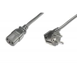 ASSMANN Electronic - AK-440109-025-S cable de transmisión Negro 2,5 m CEE7/7 C13 acoplador