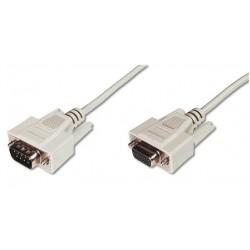 ASSMANN Electronic - AK-610203-020-E cable VGA 2 m VGA (D-Sub) Beige