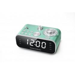 Muse - M-18CRG radio Reloj Analógica Verde