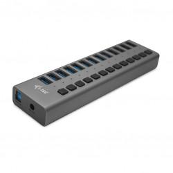 i-tec - USB 3.0 Charging HUB 13port + Power Adapter 60 W