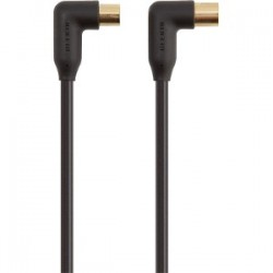 Belkin - Antenna M/F 2m cable coaxial Negro