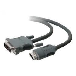 Belkin - HDMI - DVI-D M/M 1.8m 1,8 m HDMI tipo A (Estándar) Negro