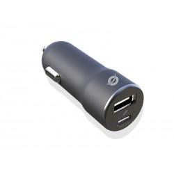 Conceptronic - ALTHEA03B cargador de dispositivo móvil Negro Auto