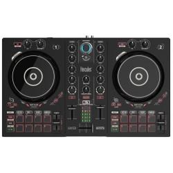 Hercules - DJControl Inpulse 300 controlador dj Negro Digital Vinyl System (DVS) scratcher