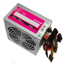 L-Link - LL-PS-500 unidad de fuente de alimentación 500 W 20+4 pin ATX ATX Plata