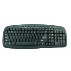 TALIUS - teclado 838 Multimedia black USB