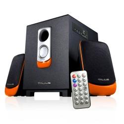 TALIUS - altavoz SPK-2101BT 2.1 USB/SD/FM Bluetooth black/orange
