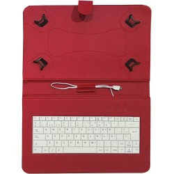 "TALIUS - funda con teclado para tablet 10"" CV-3006 red"