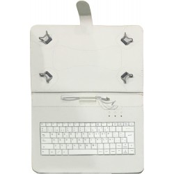 "TALIUS - funda con teclado para tablet 10"" CV-3006 white"