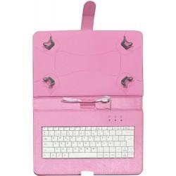 """TALIUS - funda con teclado para tablet 10"""" CV-3006 pink"""