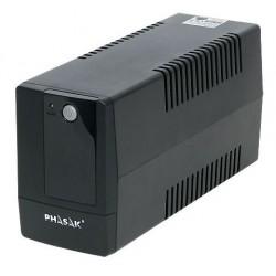 Phasak - PH 9406 sistema de alimentación ininterrumpida (UPS) 600 VA 2 salidas AC