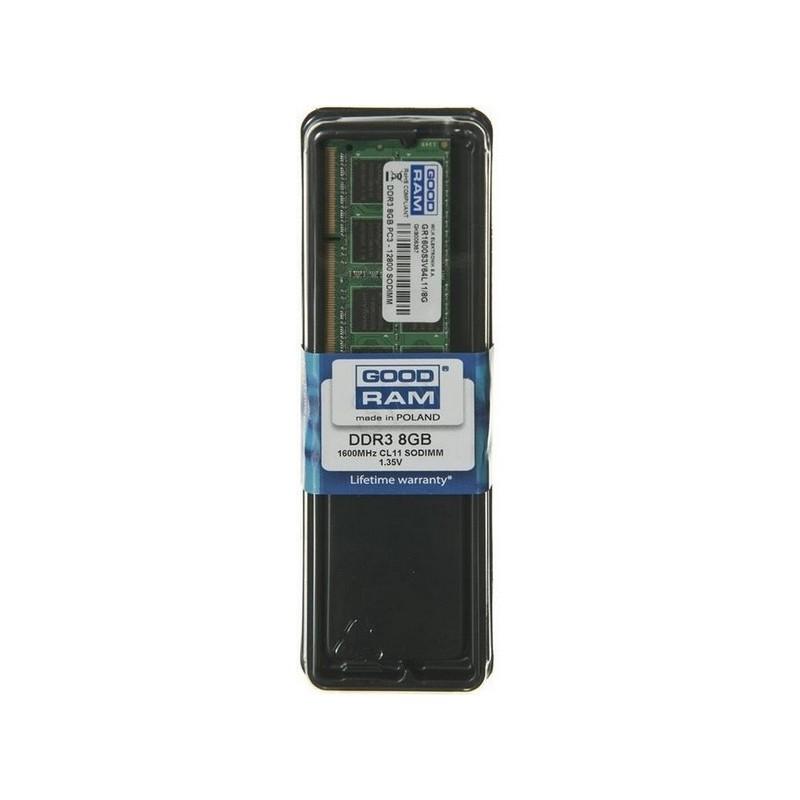 Goodram - 8GB DDR3 PC3-12800 SO-DIMM