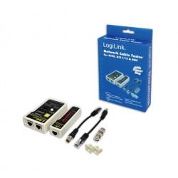 LogiLink - WZ0015 comprobador de cables de red
