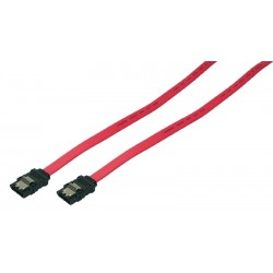 LogiLink - SATA 0.3m cable de SATA 0,3 m Rojo