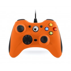 NACON - GC-100XF Gamepad PC Negro, Naranja
