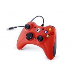 NACON - GC-100XF Gamepad PC Analógico USB Negro, Rojo