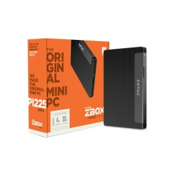 Zotac - ZBOX PI225 1,10 GHz Intel® Celeron® N3350 Negro Mini PC