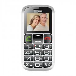 "MaxCom - MM462 4,57 cm (1.8"") 91 g Negro, Plata Teléfono para personas mayores"
