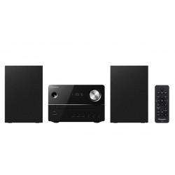 Pioneer - X-EM16 sistema de audio para el hogar Microcadena de música para uso doméstico Negro 10 W