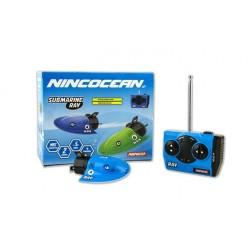 NINCO - NNH99023 Control remoto de maquetas radio control (RC) Submarino 2 canales Negro, Azul Polímero de litio 80
