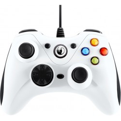 NACON - PCGC-100WHITE mando y volante Gamepad PC Blanco