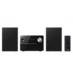 Pioneer - X-EM26 sistema de audio para el hogar Microcadena de música para uso doméstico Negro 10 W