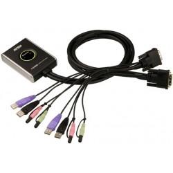Aten - CS682 interruptor KVM Negro