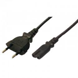 LogiLink - CP092 cable de transmisión Negro 1,8 m C8 acoplador