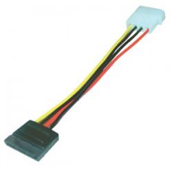 MCL - Adapteur alimentation pour disque dur serial ATA SATA SATA cable de SATA