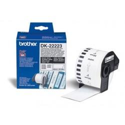 Brother - DK-22223 Blanco DK etiqueta de impresora