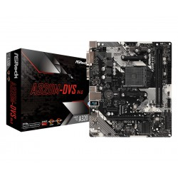 Asrock - A320M-DVS R4.0 Zócalo AM4 micro ATX AMD A320