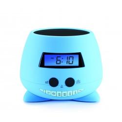 Bigben Interactive - RPE01 radio Reloj Azul