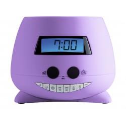 Bigben Interactive - RPEUNICORN radio Reloj Púrpura