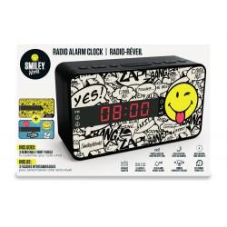 Bigben Interactive - RR16SMILEY radio Reloj Multicolor