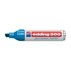 Edding - 500 marcador permanente Azul 10 pieza(s)