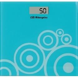 Orbegozo - PB 2214 báscula de baño Báscula personal electrónica Azul