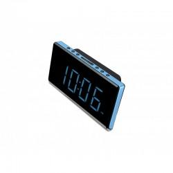 Sunstech - FRD28 radio Reloj Digital Negro, Azul