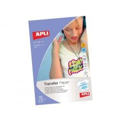 APLI - 584128 papel transfer para tejido Inyección de tinta