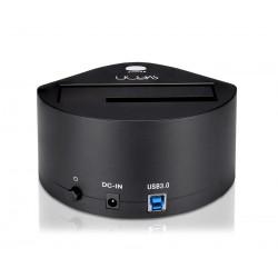 Sveon - STG110 base de conexión para disco duro USB 3.0 (3.1 Gen 1) Type-B Negro
