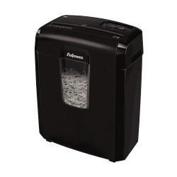 Fellowes - 8? triturador de papel Corte cruzado 22 cm Negro