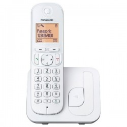 Panasonic - KX-TGC210 Teléfono DECT Blanco Identificador de llamadas