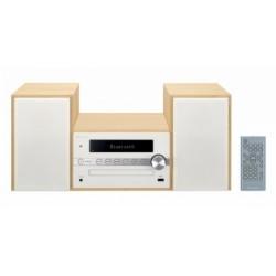 Pioneer - X-CM56-W sistema de audio para el hogar Microcadena de música para uso doméstico Blanco 30 W