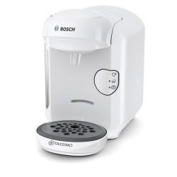 Bosch - TAS1404 cafetera eléctrica Independiente Cafetera combinada Blanco 0,7 L Totalmente automática