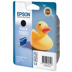 Epson - Duck Cartucho T0551 negro
