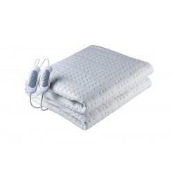 Solac - Norway + Calentador de cama eléctrico 120 W Blanco Tela