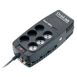 OvisLink - NEON 1200 MP6 sistema de alimentación ininterrumpida (UPS) 1200 VA 600 W 6 salidas AC