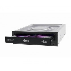 LG - GH24NSD5 unidad de disco óptico Interno Negro DVD Super Multi DL